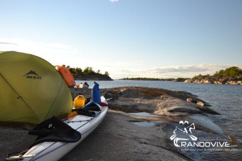29 Juillet au 5 aout 2018 – Archipel de Stockholm en Kayak de mer