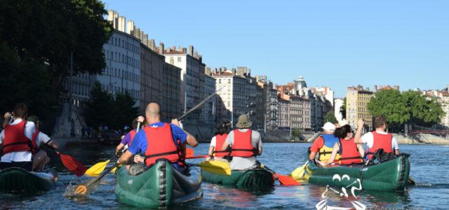 Découvrir Lyon en Canoë Kayak