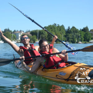 Découvrir le Grand Large en Kayak