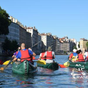 Découvrir Lyon en Kayak