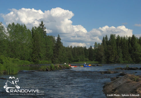 7 Juillet 2018 – PROJET – Canoë & Pêche en Finlande sur la Kiiminkijoki